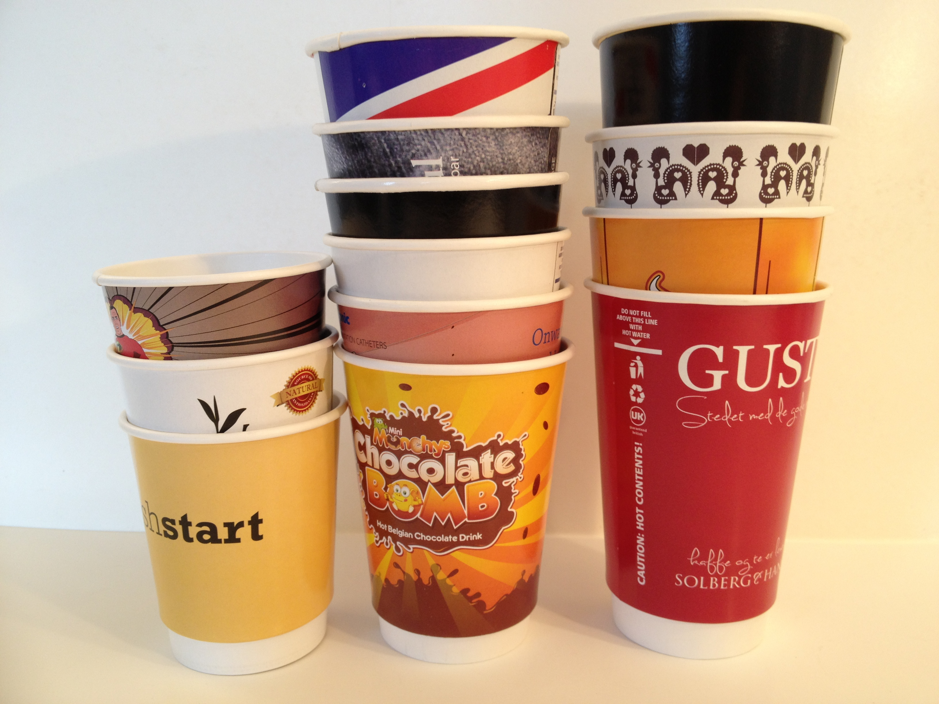 Biodegradeable Paper Cups